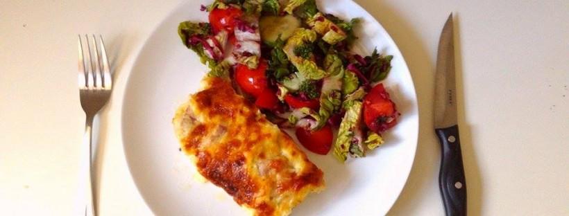 morcacie prsia salat