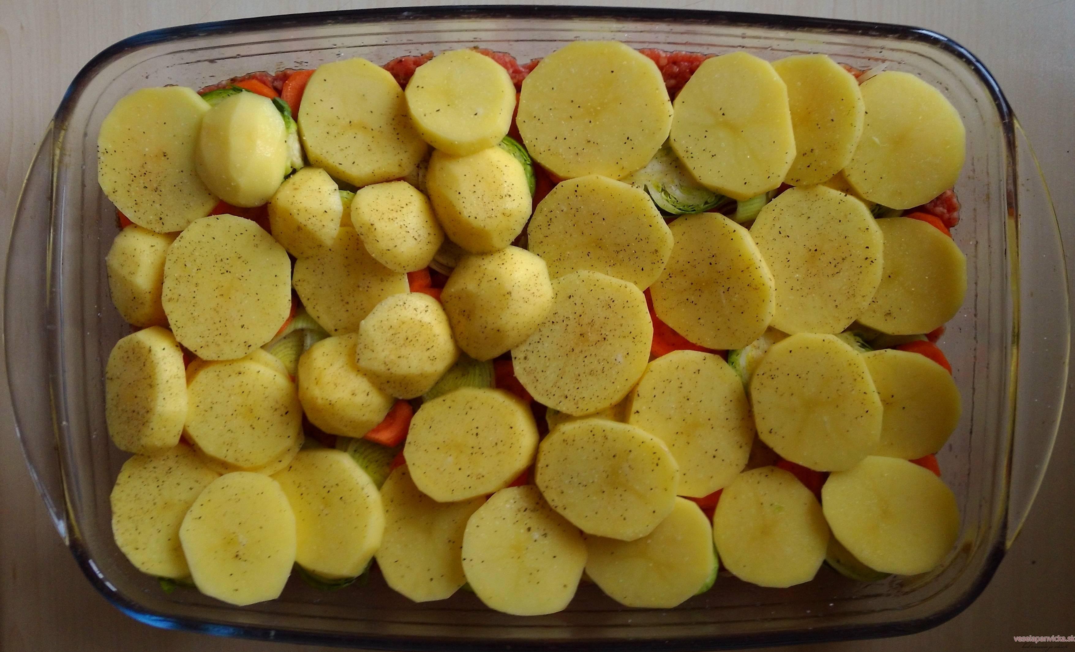 zapekane zemiaky s mletym masom (2)