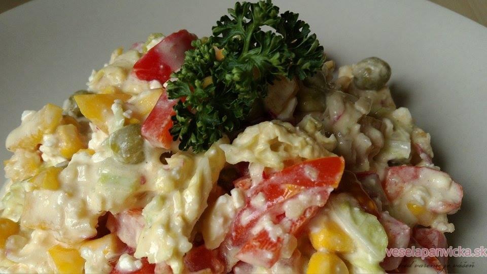 farebny salatik