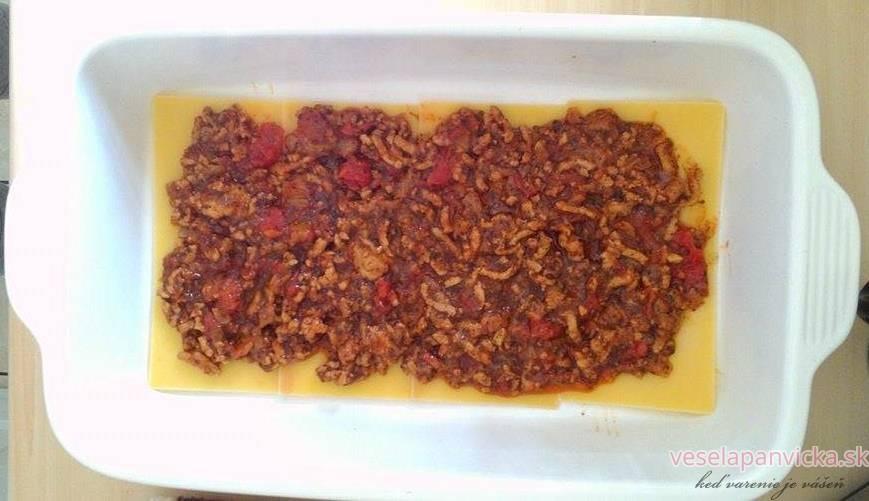 lasagne postup