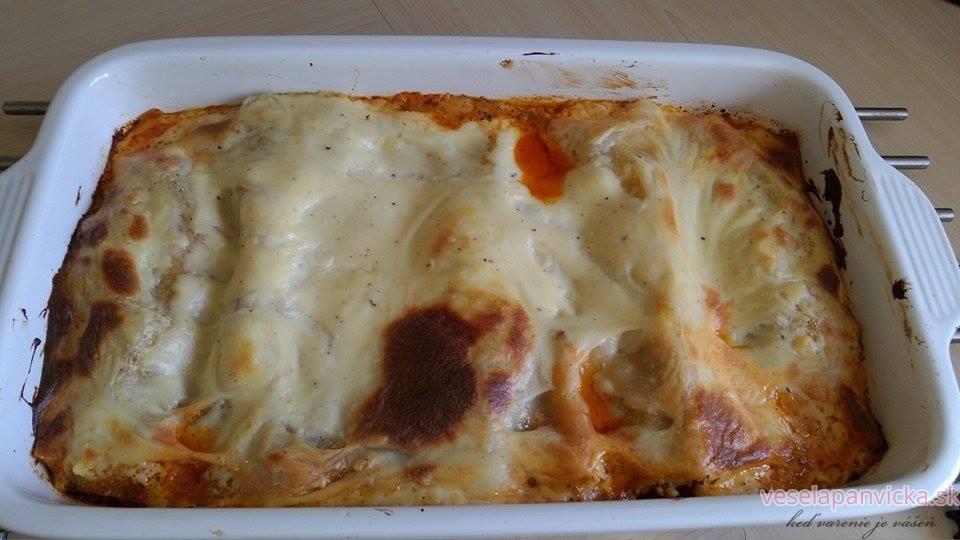 lasagne upečené