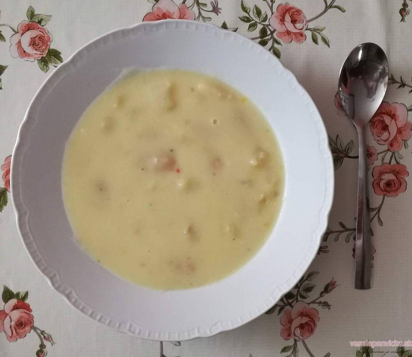mliecna fazulova polievka_3